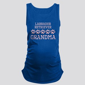 Labrador Retriever Grandma Maternity Tank Top