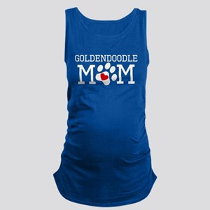 Goldendoodle Mom Maternity Tank Top