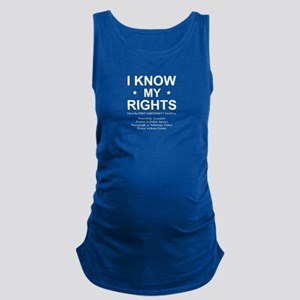 I KNOW MY RIGHTS BL Tank Top