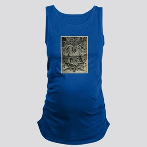 Alchemical Print from 1677 Maternity Tank Top