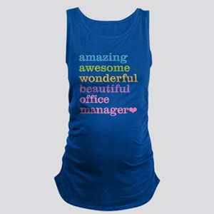 Office Manager Maternity Tank Top