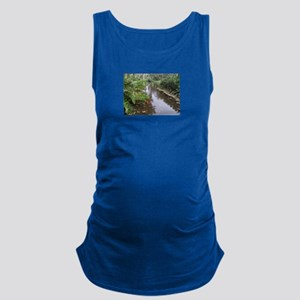OLD FLORIDA FISH POND Maternity Tank Top