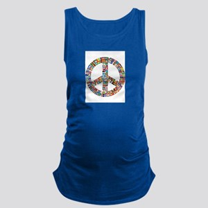 Peace to All Nations Maternity Tank Top