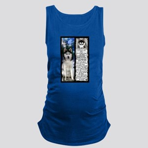 Siberian Husky Dog Laws Rules Maternity Tank Top