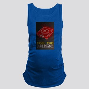 Pioneer CDJ Feel The Music Maternity Tank Top