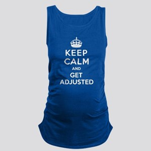 Keep Calm and Get Adjusted Maternity Tank Top