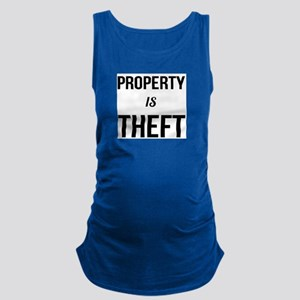 Property is Theft - Anarchist Socialist C Tank Top