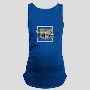 Ferrets Maternity Tank Top