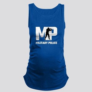 MP Military Police Maternity Tank Top