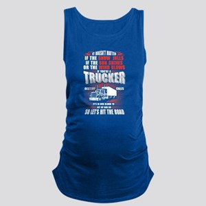 Trucker Maternity Tank Top