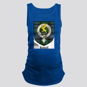 Russell Clan Crest Tartan Maternity Tank Top