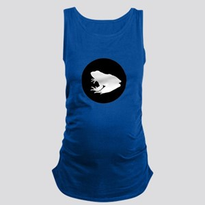 Frog Silhouette Maternity Tank Top