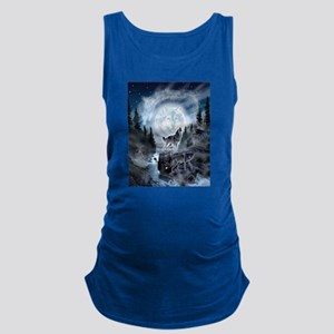 spirt of the wolf Maternity Tank Top