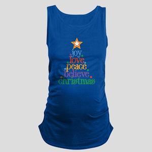 Joy Love Christmas Maternity Tank Top