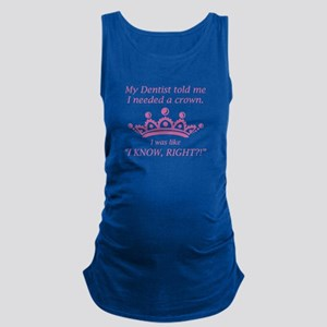 I Needed A Crown Maternity Tank Top