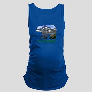Alaskan Bear Maternity Tank Top