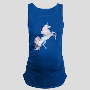 Cute Unicorn Maternity Tank Top