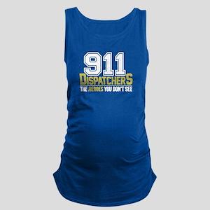 911 Dispatcher Heroes Maternity Tank Top