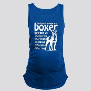 Boxer Maternity Tank Top
