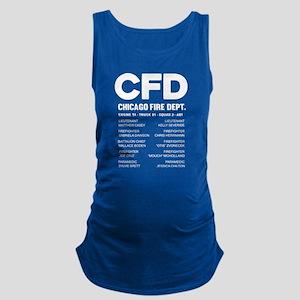 CFD Chicago Fire Department T Shirt Tank Top