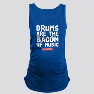 Drums are the bacon of music Tank Top