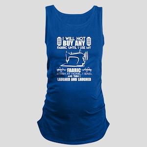 Quilting Funny Fabrics Shirt Maternity Tank Top