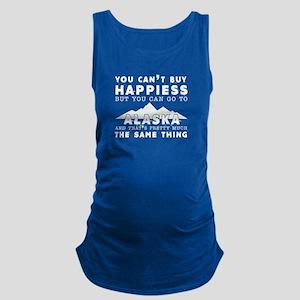 Happiness And Alaska Maternity Tank Top