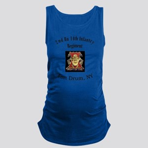 2nd bn 14th Inf Maternity Tank Top
