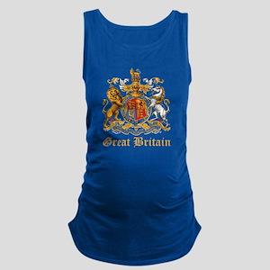 Royal Coat Of Arms Maternity Tank Top