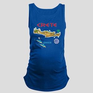 crete_t_Shirt_maP Maternity Tank Top