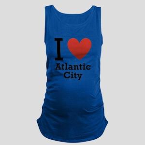 I-Love-Atlantic-City Maternity Tank Top