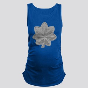 USAF-LtCol-Silver Maternity Tank Top