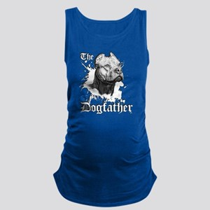 The Pit Bull Dog Father Maternity Tank Top