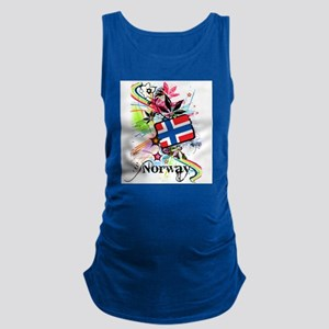 Flower Norway Maternity Tank Top