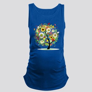 Trees5 [Converted] Maternity Tank Top