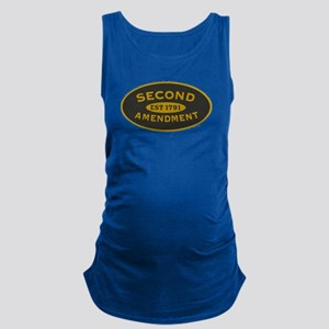 Second Amendment Maternity Tank Top