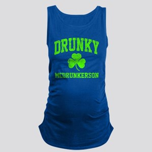 Green Drunky Maternity Tank Top