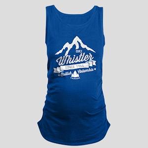 Whistler Mountain Vintage Maternity Tank Top