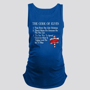 Code-of-Elves Maternity Tank Top