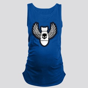 Winged bomb Maternity Tank Top