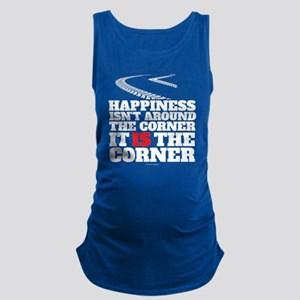 Happiness Isn't Around The Corn Maternity Tank Top