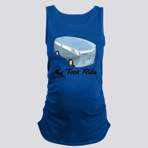 My First Ride Maternity Tank Top