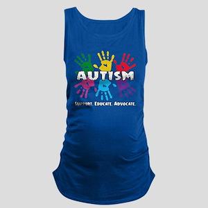 Autism Awareness Maternity Tank Top