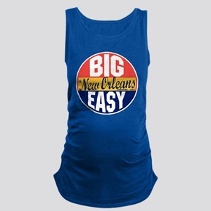 New Orleans Vintage Label B Maternity Tank Top