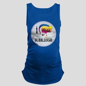 I Dream of Bubble Gum Maternity Tank Top
