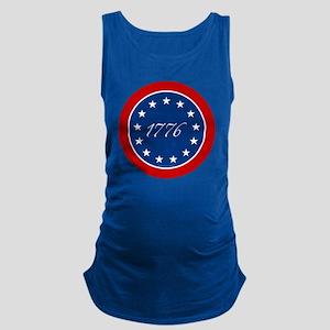 btn-patriot-1776-13stars Maternity Tank Top