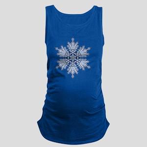 Snowflake Designs - 011 - trans Maternity Tank Top