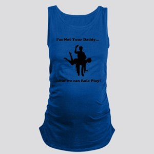 Not Your Daddy Maternity Tank Top