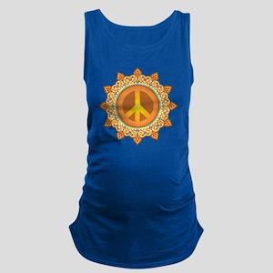 Peace Symbol Maternity Tank Top