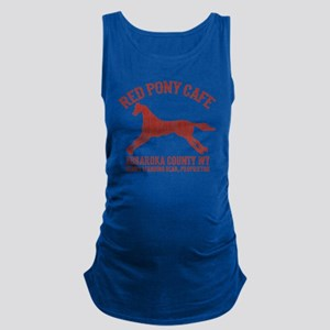 Longmire Red Pony Maternity Tank Top
